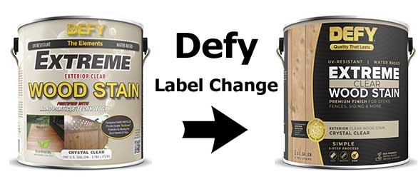 Defy Extreme Clear Wood Stain Clear Deck Stain With Nano
